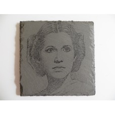 STAR WARS INSPIRED ENGRAVED SQUARE SLATE COASTERS FOR ANY OCCASION