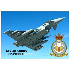 1(F) SQUADRON TYPHOON KEYRING/FRIDGE MAGNET/BOTTLE OPENER