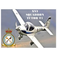 16 SQUADRON TUTOR T1 KEYRING/FRIDGE MAGNET/BOTTLE OPENER
