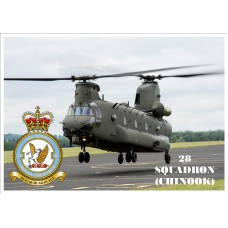28 SQUADRON (CHINOOK) KEYRING/FRIDGE MAGNET/BOTTLE OPENER