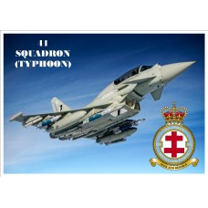 41 SQUADRON (TYPHOON) KEYRING/FRIDGE MAGNET/BOTTLE OPENER