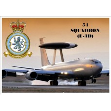 54 SQUADRON (E-3D) KEYRING/FRIDGE MAGNET/BOTTLE OPENER