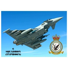 6 SQUADRON TYPHOON KEYRING/FRIDGE MAGNET/BOTTLE OPENER