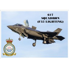 617 SQUADRON (LIGHTNING)KEYRING/FRIDGE MAGNET/BOTTLE OPENER