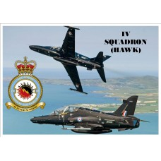 IV SQUADRON (HAWK)KEYRING/FRIDGE MAGNET/BOTTLE OPENER