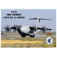LXX SQUADRON (ATLAS A400) KEYRING/FRIDGE MAGNET/BOTTLE OPENER