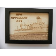 RFA APPLELEAF LASER ENGRAVED PHOTOGRAPH