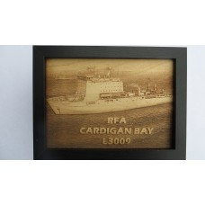 RFA CARDIGAN BAY LASER ENGRAVED PHOTOGRAPH