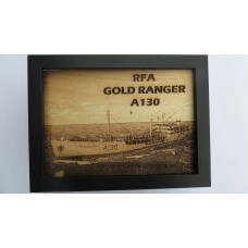 RFA GOLD RANGER LASER ENGRAVED PHOTOGRAPH
