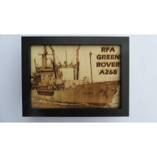 RFA GREEN ROVER LASER ENGRAVED PHOTOGRAPH