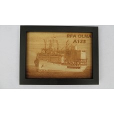 RFA OLNA LASER ENGRAVED PHOTOGRAPH