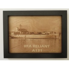 RFA RELIANT LASER ENGRAVED PHOTOGRAPH