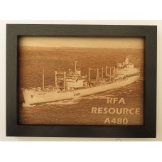 RFA RESOURCE LASER ENGRAVED PHOTOGRAPH