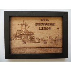 RFA SIR BELIVERE LASER ENGRAVED PHOTOGRAPH