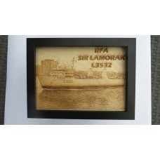 RFA SIR LAMORAK LASER ENGRAVED PHOTOGRAPH