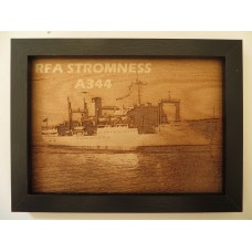 RFA STROMNESS LASER ENGRAVED PHOTOGRAPH