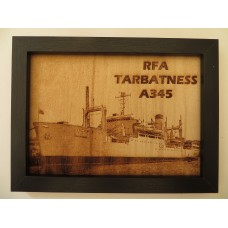 RFA TABATNESS LASER ENGRAVED PHOTOGRAPH