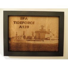 RFA TIDEFORCE LASER ENGRAVED PHOTOGRAPH