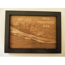 RFA TIDEPOOL LASER ENGRAVED PHOTOGRAPH