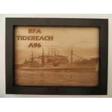 RFA TIDEREACH LASER ENGRAVED PHOTOGRAPH