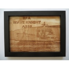 RFA WAVE KNIGHT LASER ENGRAVED PHOTOGRAPH