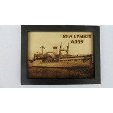 RFA LYNESS LASER ENGRAVED PHOTOGRAPH