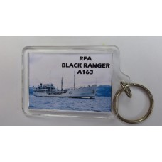 RFA BLACK RANGER KEYRING/FRIDGE MAGNET/BOTTLE OPENER