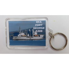 RFA FORT GEORGE KEYRING/FRIDGE MAGNET/BOTTLE OPENER