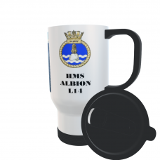 HMS ALBION L14 TRAVEL MUG