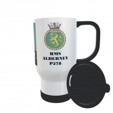 HMS ALDERNEY P278 TRAVEL MUG