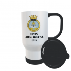HMS ARK ROYAL 91 TRAVEL MUG