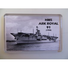 HMS ARK ROYAL 91 KEYRING/FRIDGE MAGNET/BOTTLE OPENER