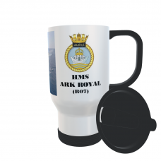 HMS ARK ROYAL R07 TRAVEL MUG