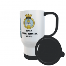 HMS ARK ROYAL R09 TRAVEL MUG