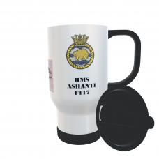 HMS ASHANTI F117 TRAVEL MUG