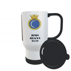HMS DIANA D126 TRAVEL MUG