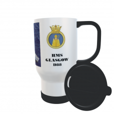 HMS GLASGOW D88 TRAVEL MUG