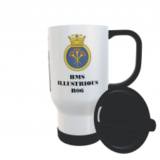 HMS ILLUSTRIOUS R06 TRAVEL MUG