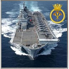 HMS ILLUSTRIOUS R06 COASTER