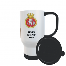 HMS KENT D12 TRAVEL MUG