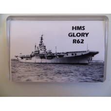 HMS GLORY R62 KEYRING/FRIDGE MAGNET/BOTTLE OPENER