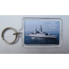HMS ACTIVE F171 KEYRING/FRIDGE MAGNET/BOTTLE OPENER