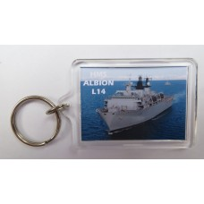 HMS ALBION L14 KEYRING/FRIDGE MAGNET/BOTTLE OPENER