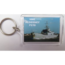 HMS ALDERNEY P278 KEYRING/FRIDGE MAGNET/BOTTLE OPENER