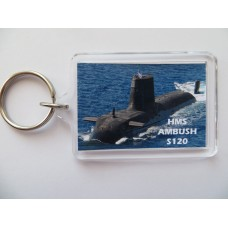HMS AMBUSH S120 KEYRING/FRIDGE MAGNET/BOTTLE OPENER