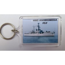 HMS ANDROMEDA F57  KEYRING/FRIDGE MAGNET/BOTTLE OPENER