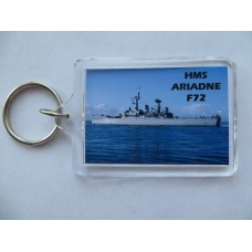 HMS ARIADNE F72 KEYRING/FRIDGE MAGNET/BOTTLE OPENER