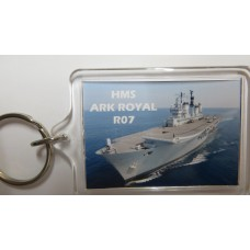 HMS ARK ROYAL R07 KEYRING/FRIDGE MAGNET/BOTTLE OPENER
