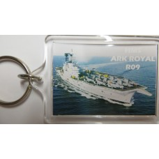 HMS ARK ROYAL R09 KEYRING/FRIDGE MAGNET/BOTTLE OPENER
