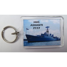 HMS ASHANTI F117 KEYRING/FRIDGE MAGNET/BOTTLE OPENER